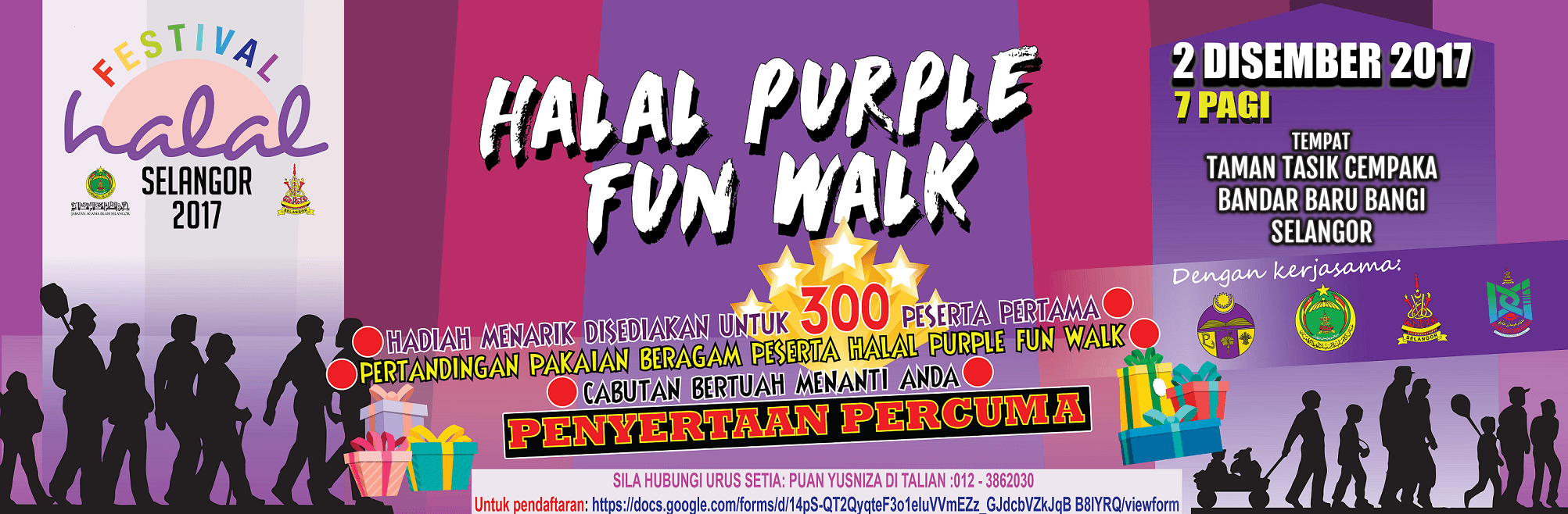 HALAL PURPLE FUN WALK_FES