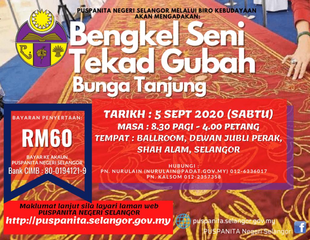 Bengkel Seni Tekad Gubah Bunga Tanjung 5sept2020